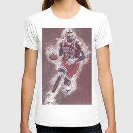 basketball player art 8 T-shirt