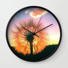 Whimsical wish Wall Clock