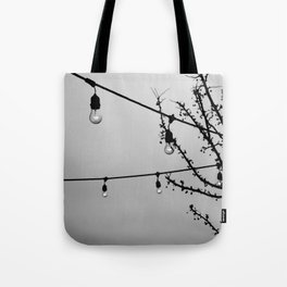 Winter Patio Tote Bag