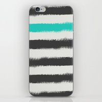 the strokes iPhone & iPod Skins featuring Paint Strokes  by Zeke Tucker