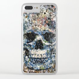 Old Story Clear iPhone Case
