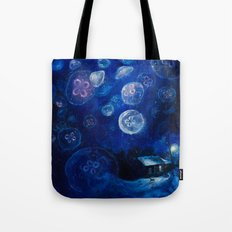 It's Jellyfishing Outside Tonight Tote Bag