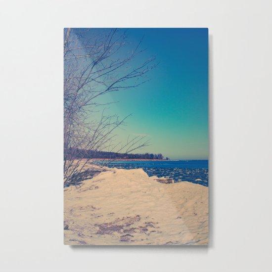 Winter Romance Metal Print