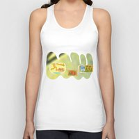 tequila Tank Tops featuring tequila genius by Peter Thompson