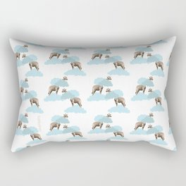 Giraff in the clouds . Joy in the clouds collection Rectangular Pillow