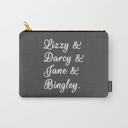 The Pride and Prejudice Couples II Carry-All Pouch