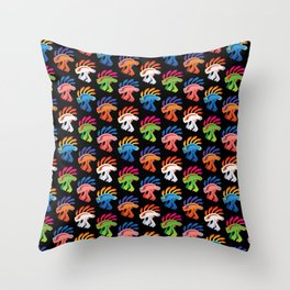Murloc Swarm Throw Pillow
