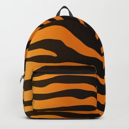 Tiger Skin Pattern Backpack