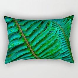 Flowing Ferns Rectangular Pillow