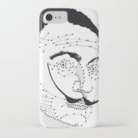 dali iPhone & iPod Cases featuring DALI by pointing@faces