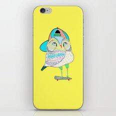 Rad Owl iPhone & iPod Skin