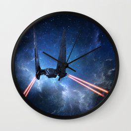 Kylo Rens Command Shuttle Wall Clock