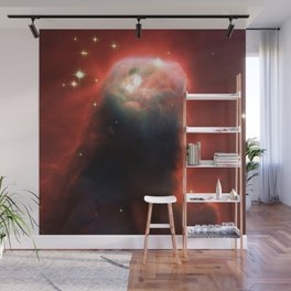 Space pillar of gas Wall Mural