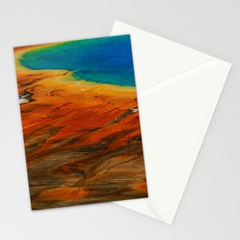 Grand Prismatic Lake Stationery Cards