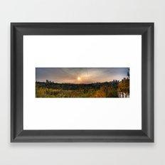 Edmonton Framed Art Print