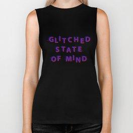 Glitched State Of Mind Biker Tank