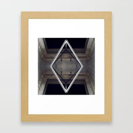 Don't look up Framed Art Print