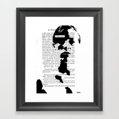 A Simple Prayer Framed Art Print