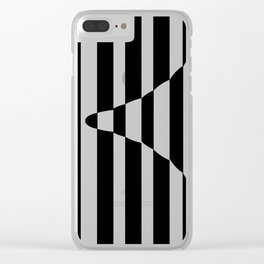 Bullet pattern Clear iPhone Case