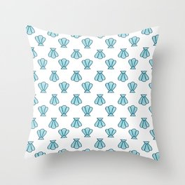 Shell Out Throw Pillow