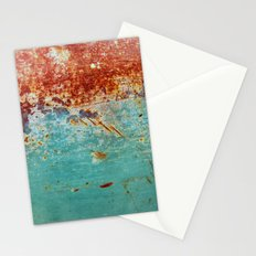 Teal Rust Stationery Cards