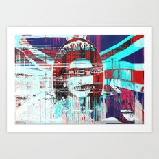 Gᴑᴆ ˢɐᵛᴇ ᴛħə ʠʊɵɵʌ Art Print