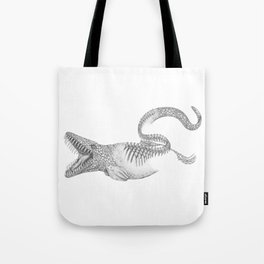 Mosasaurus Tote Bag