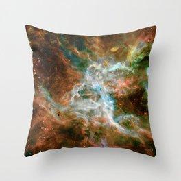 Tarantula Nebula Throw Pillow