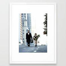 LEON, THE PROFESSIONAL Framed Art Print