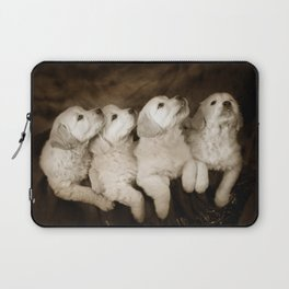 Cute labrador puppies Laptop Sleeve