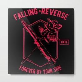 Falling Reverse Metal Print