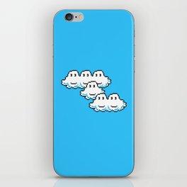 Super Mario Clouds iPhone Skin