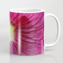 Hollyhocks in the Dream Garden Coffee Mug