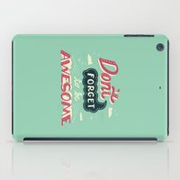 risa rodil iPad Cases featuring DFTBA by Risa Rodil
