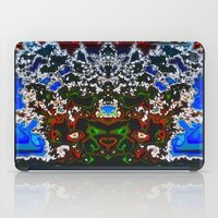 headdress iPad Cases featuring An Elaborate Headdress by mimulux