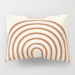 Full moon rainbow Pillow Sham