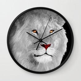 Albino LiON iPhone 4 4s 5 5c 6 7, pillow case, mugs and tshirt Wall Clock