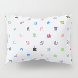 Everything and Everyone Pillow Sham