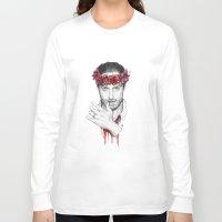 rick grimes Long Sleeve T-shirts featuring Rick Grimes by Nikita Jobson