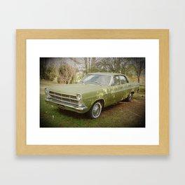 Good Old Ford Fairlane Framed Art Print