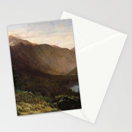 Mount Lafayette Franconia Notch New Hampshire 1870 By Thomas Hill | Reproduction Stationery Cards