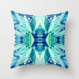 Floral Crown Throw Pillow