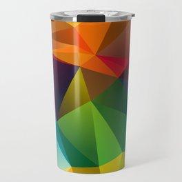 Geometric view Travel Mug