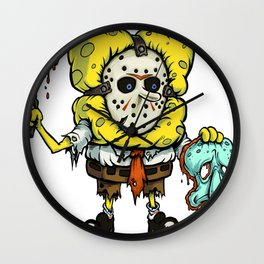 Spongebob Horror Wall Clock