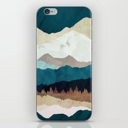 Fall Forest Night iPhone Skin