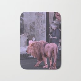 Searching the Beauty. African Invasion Bath Mat
