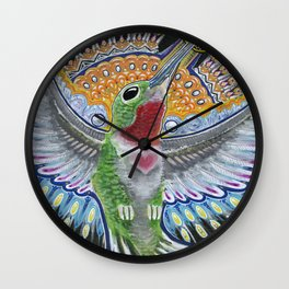 Beija Flor Wall Clock