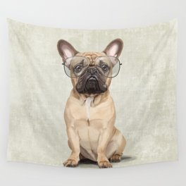 Mr French Bulldog Wall Tapestry