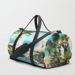Cozy courtyard # 2 Duffle Bag