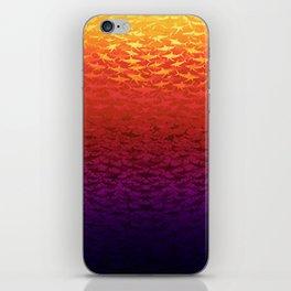 Sharks At Sunset iPhone Skin